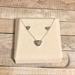 🎉HP🎉 Sterling silver heart set